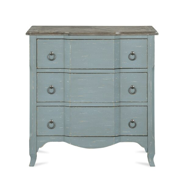 Hartville 3 Drawer Accent Chest by Ophelia & Co.