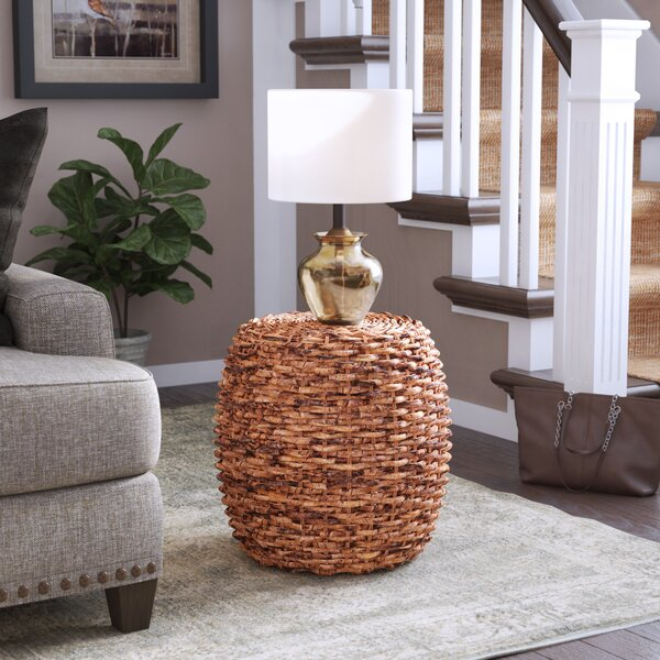 Calabash Woven Drum End Table By Birch Lane™ Heritage