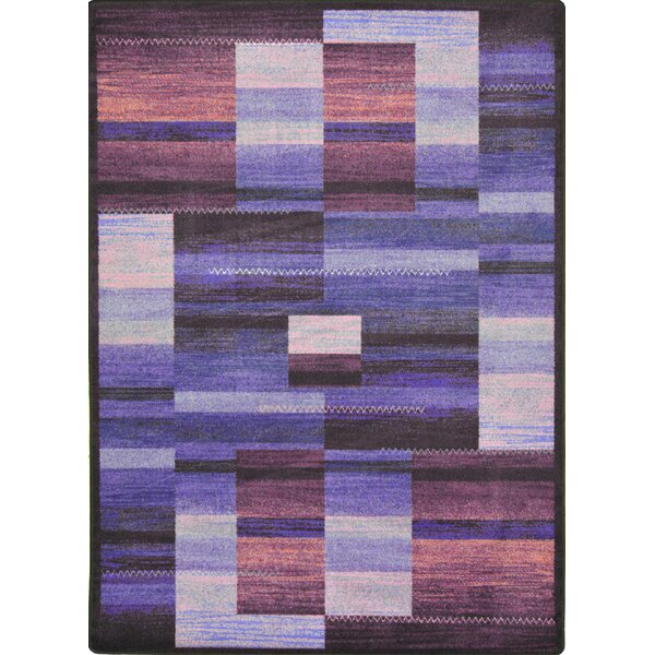 Hand-Tufled Brown/Purple Area Rug by The Conestoga Trading Co.