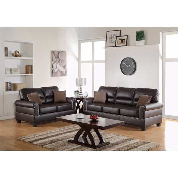 Westborough 2 Piece Living Room Set By Charlton Home Great price