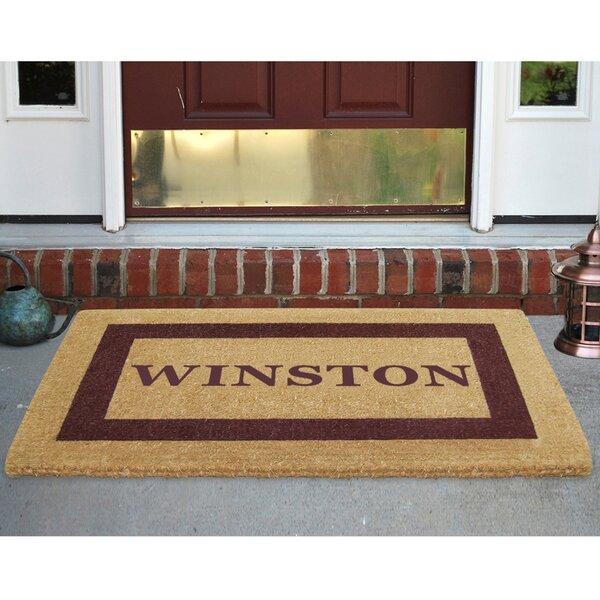 Nedia Home Personalized 30 in. x 48 in. Outdoor Door Mat