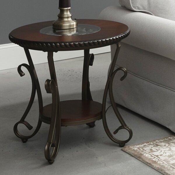 Cragin End Table (Set Of 2) By Fleur De Lis Living