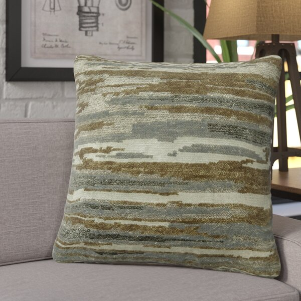 Hardouin Wool Throw Pillow by 17 Stories