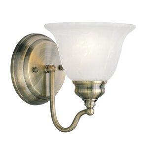 Savings Cicco 1-Light Bath Sconce By Charlton Home