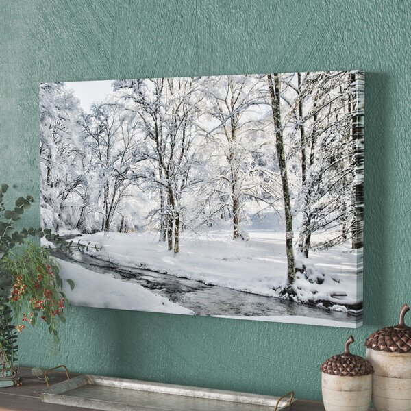 The Creek Still Flows Photographic Print on Wrapped Canvas by Loon Peak