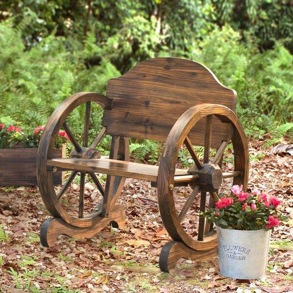 Aline Rustic Wood Chair by Loon Peak