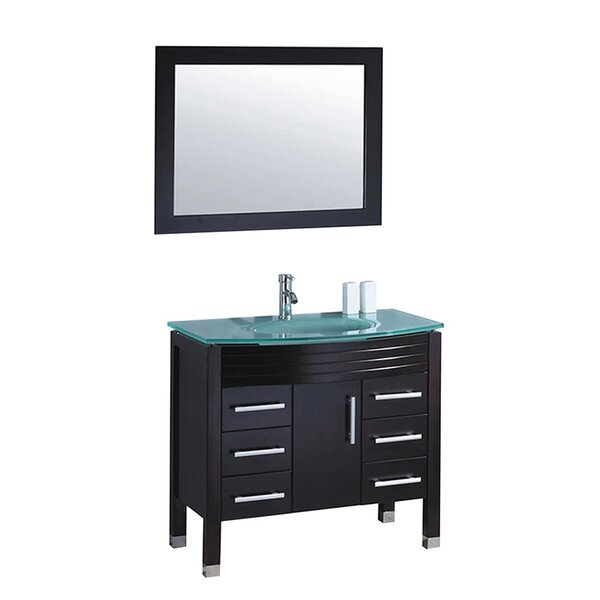 Prall 47 Single Bathroom Vanity Set with Mirror by Orren Ellis
