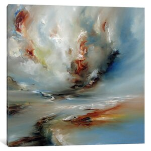 Light Twist Painting on Wrapped Canvas by Latitude Run