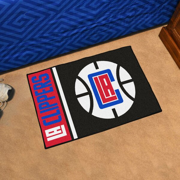 NBA Los Angeles Clippers Starter Mat by FANMATS