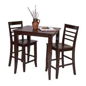 Jamestown 3 Piece Pub Table Set by OSP Designs