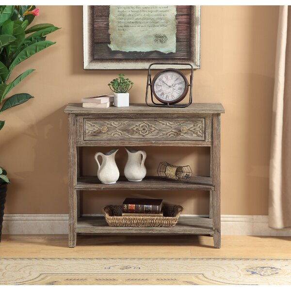 Warne 1 Drawer Console Table by August Grove