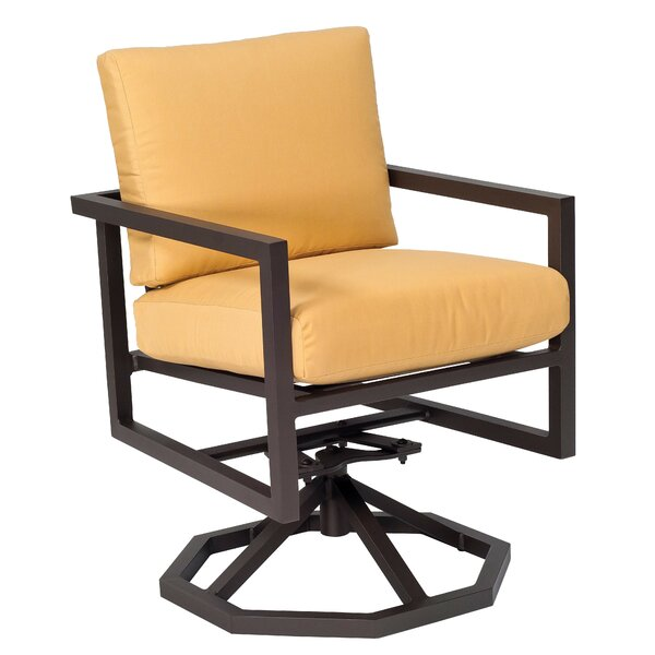 Salona Swivel Rocking Chair with Cushion by Woodard