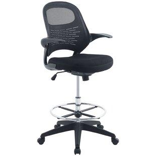 Merveilleux Alyson Mesh Drafting Chair