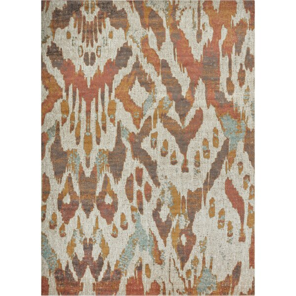Cortright Beige/Brown Area Rug by Bungalow Rose