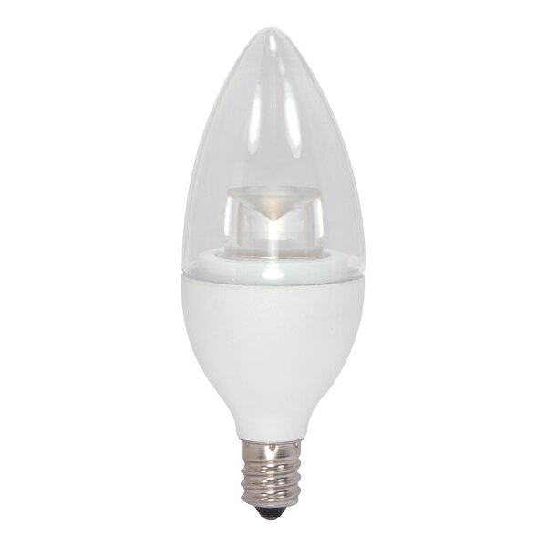 E12/Candelabra LED Light Bulb by Satco