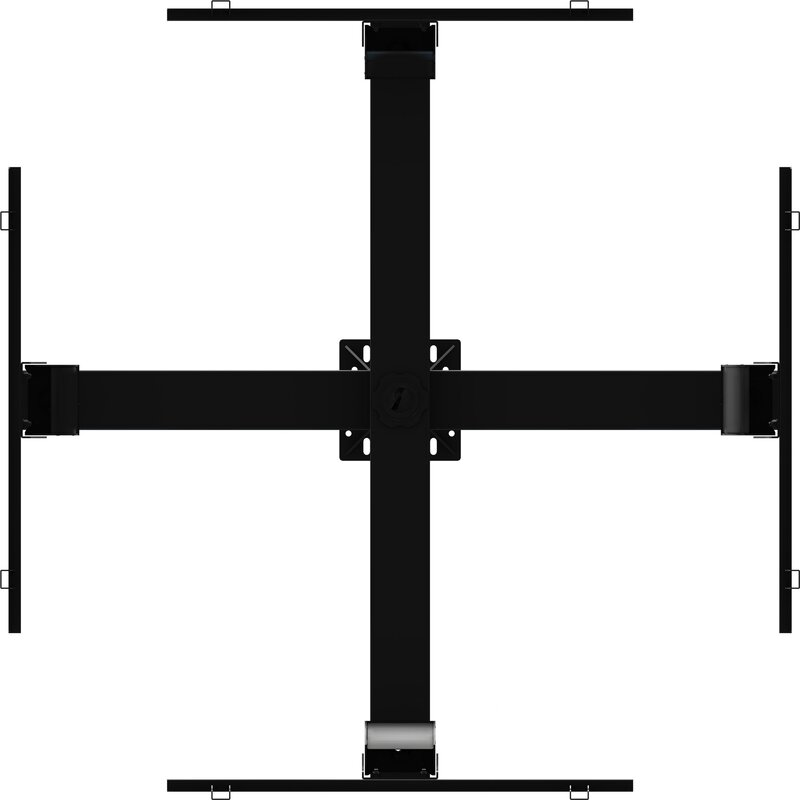 "Tilt Universal Ceiling Mount for 37"" - 63"" Screens"