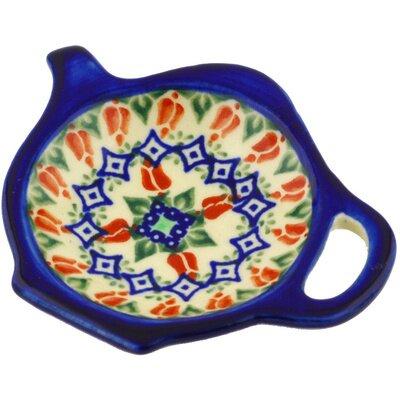 Polish Pottery 4 Lemon Plate by Polmedia