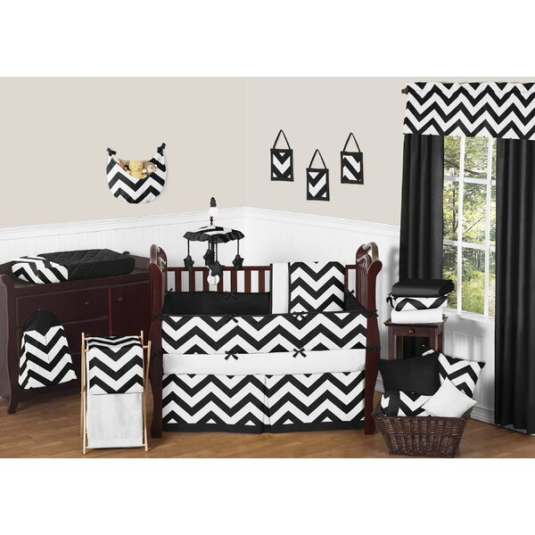 Chevron 9 Piece Crib Bedding Set by Sweet Jojo Designs