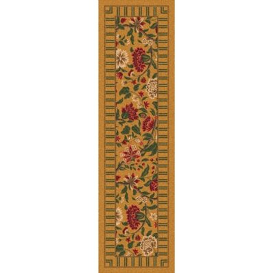 Pastiche Vachell Gold Floral Runner