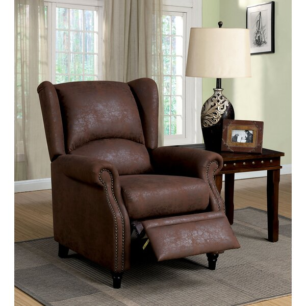 Eastep Push Back Manual Recliner by Darby Home Co