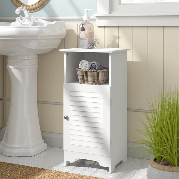 Luciano 13.5 W x 27.5 H Cabinet by Beachcrest Home