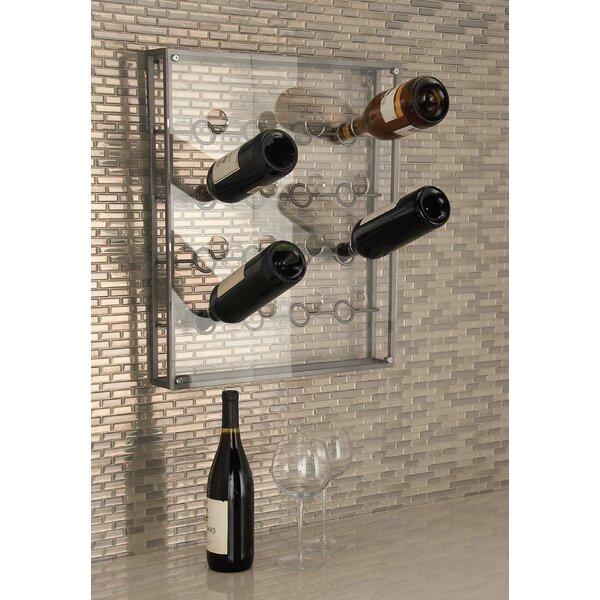 16 Bottle Wall Mounted Wine Bottle Rack by Cole & Grey