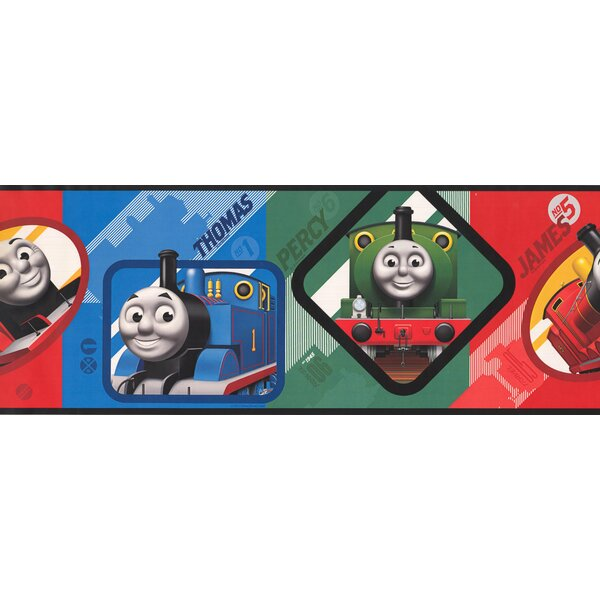 Thomas and Friends Trains Wall Border by York Wallcoverings