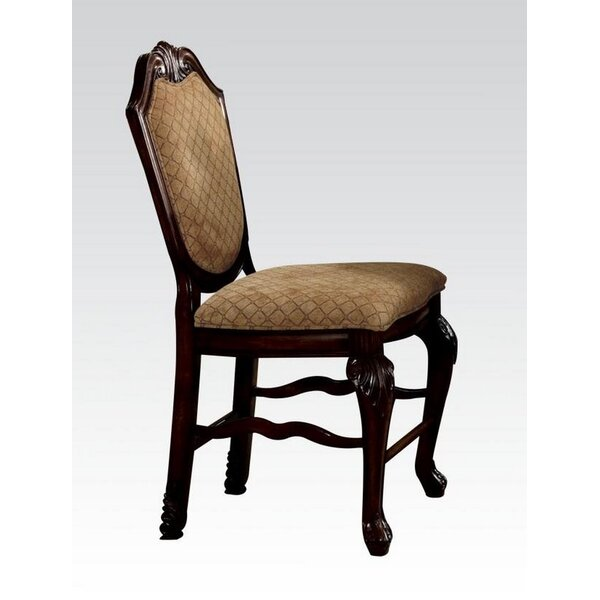Stephenson Counter Height Upholstered Dining Chair (Set of 2) by Astoria Grand