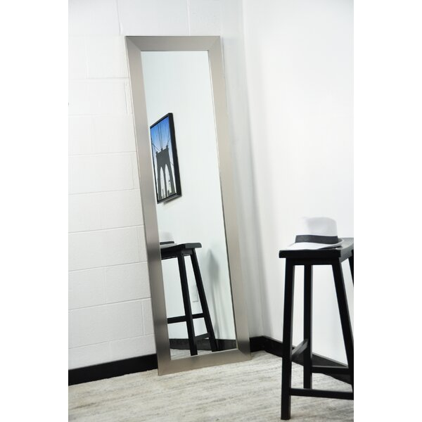 Current Trend Apartment Stainless Full Length Wall Mirror by American Value