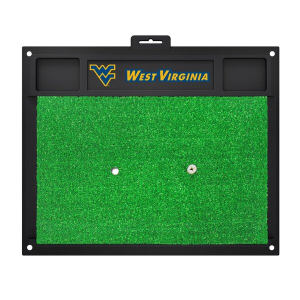 NCAA West Virginia University Golf Hitting Mat by FANMATS
