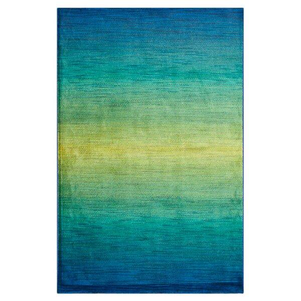 Yanga Blue/Green Area Rug by Latitude Run