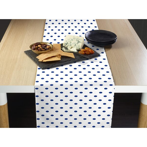 Croy Dots Milliken Signature Table Runner by Ebern Designs