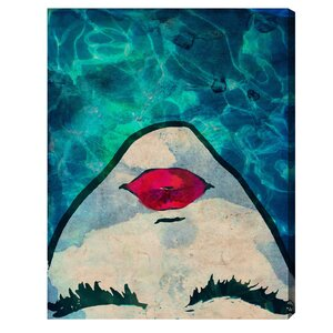 Watercoveted Graphic Art Print on Canvas by Oliver Gal