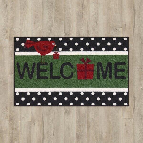 Christmas Black Area Rug by The Holiday Aisle