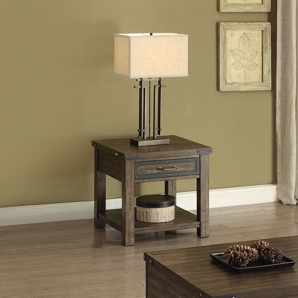 Nancy End Table by Millwood Pines