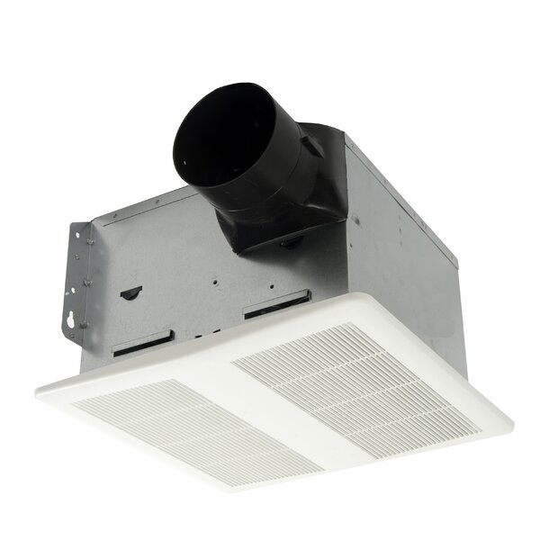HushTone 150 CFM Energy Star Bathroom Fan With Humidistat Combo by Cyclone