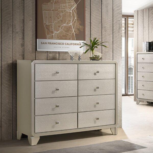 Yates 8 Drawer Dresser by Rosdorf Park