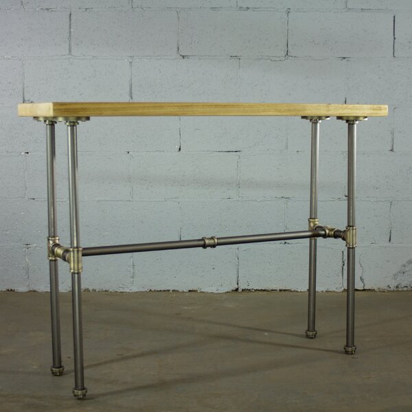Review Cissell Industrial Chic Console Table
