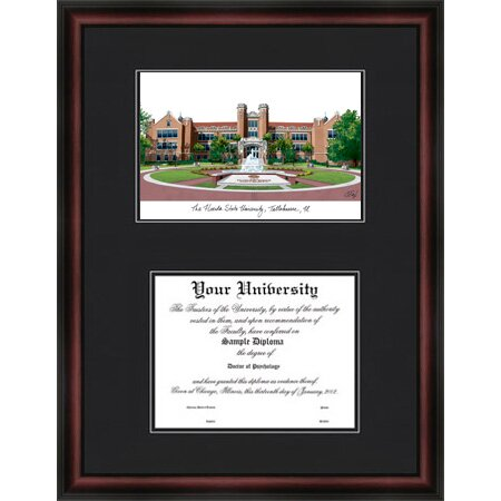 NCAA Florida State University Diploma Picture Frame by Campus Images