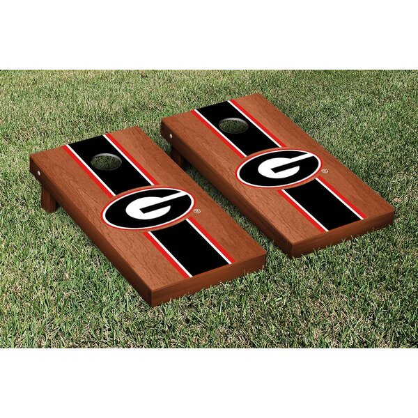 Stained Stripe Version 1 Cornhole Game Set by Victory Tailgate