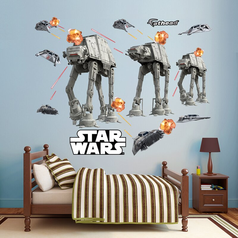 Star Wars   Lucas Battle Of Hoth Peel And Stick Wall Decal Part 61