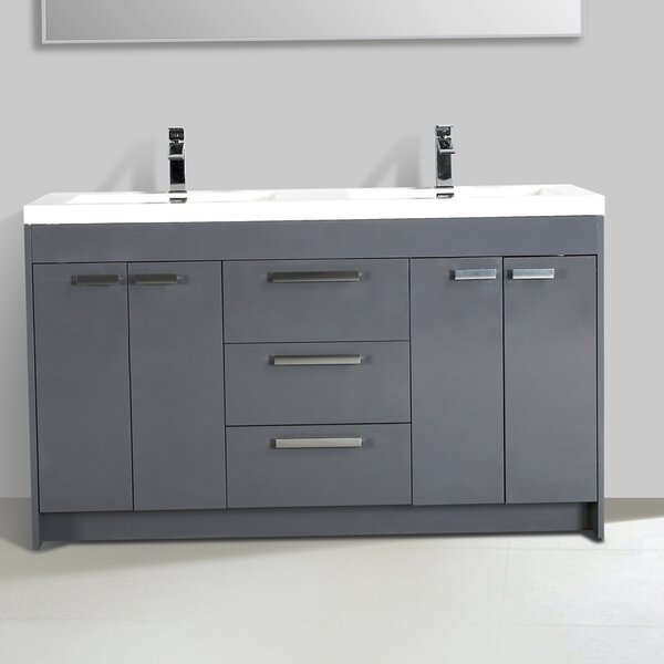 Coova 60 Double Bathroom Vanity Set by Orren Ellis