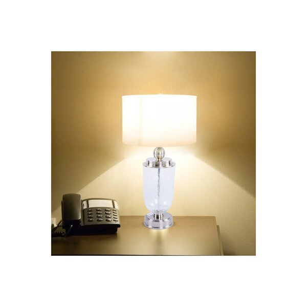 Carmelo Glass Vase 29 Table Lamp by Canora Grey