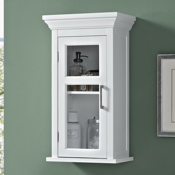 Avington 15 W x 27.13 H Wall Mounted Cabinet by Simpli Home