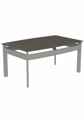 Kor Rectangle Aluminum Coffee Table by Tropitone