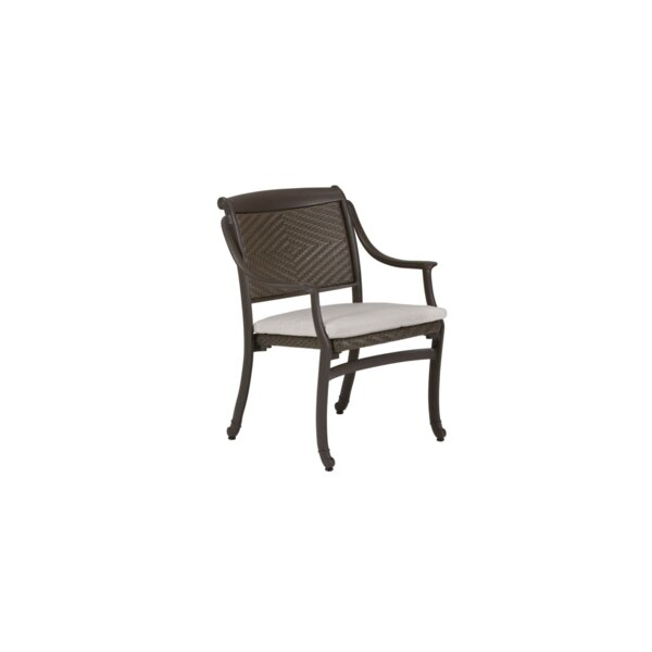 Belmar Patio Dining Chair with Cushion by Tropitone