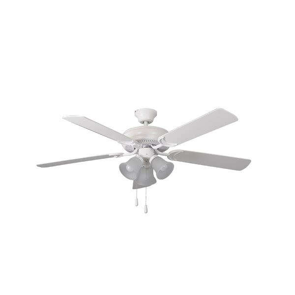 52 Godbey Traditional 5-Blade Ceiling Fan by Winston Porter