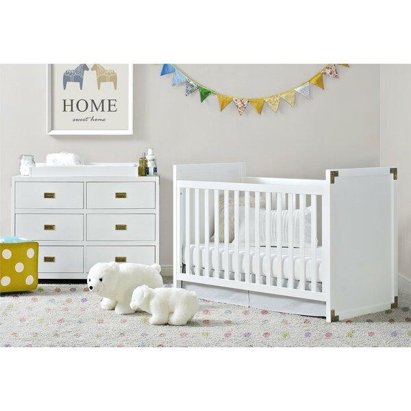 Benbrook 2-in-1 3 Piece Convertible Crib Set by Greyleigh