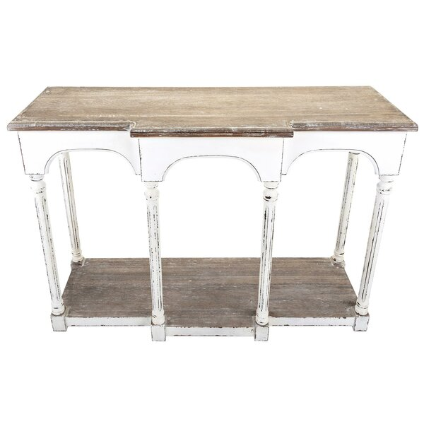 Paula Wooden Console Table By Ophelia & Co.