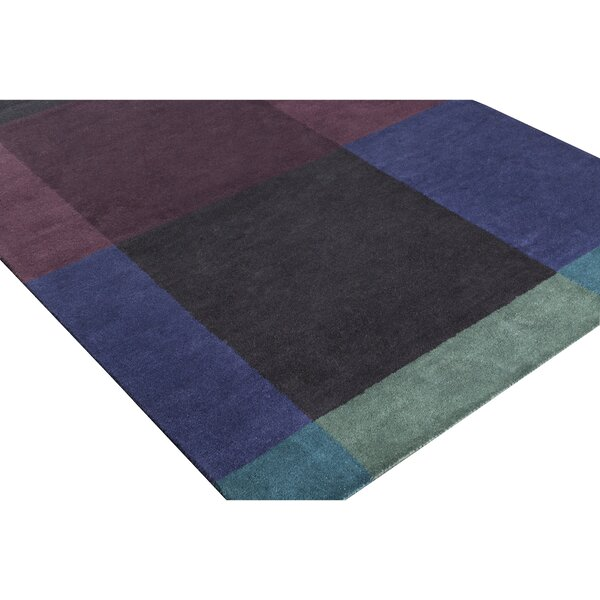 Mentzer Hand-Tufted Blue/Purple Area Rug by Latitude Run